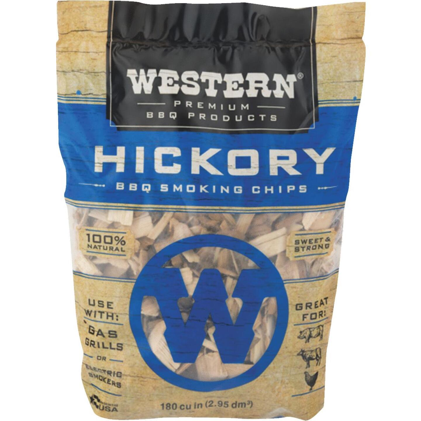 Western 2 Lb. Hickory Wood Smoking Chips Image 1