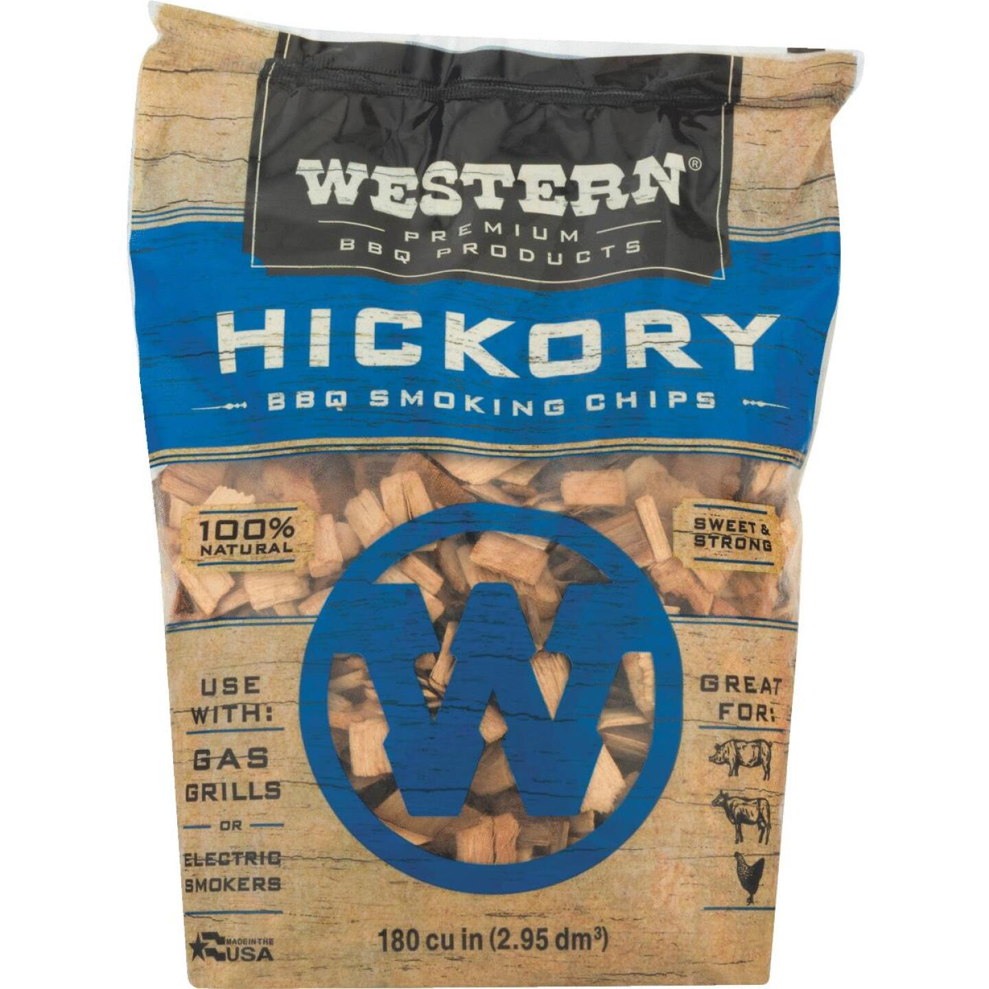 Western 2 Lb. Hickory Wood Smoking Chips Image 4