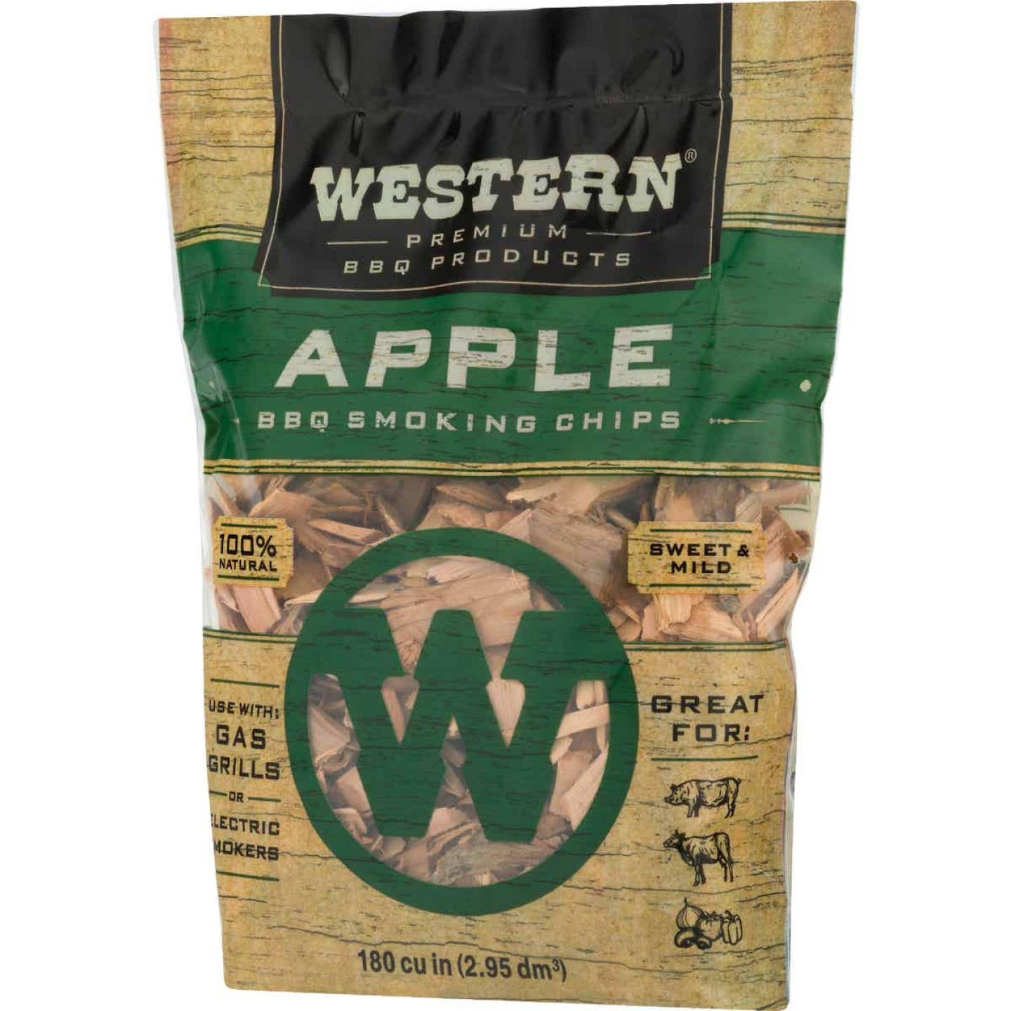 Western 2 Lb. Apple Wood Smoking Chips Image 5