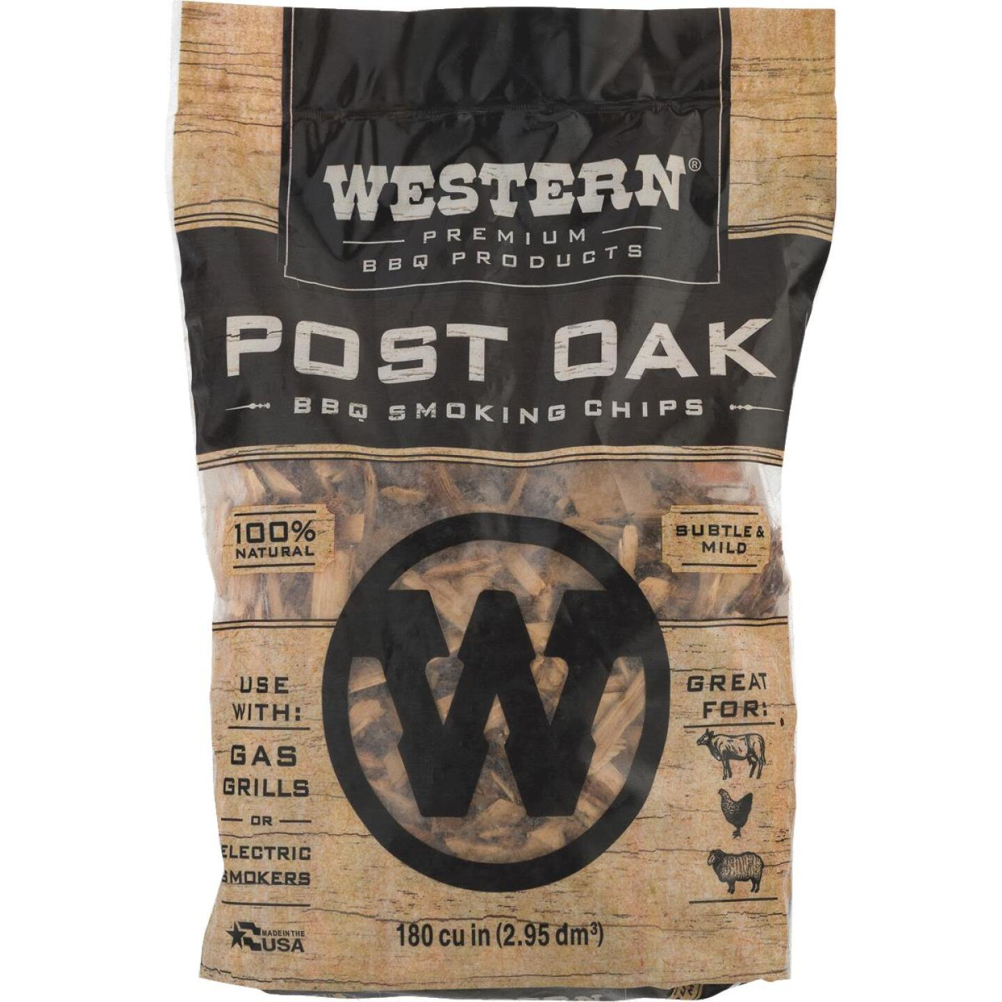 Western 2 Lb. Oak Wood Smoking Chips Image 3
