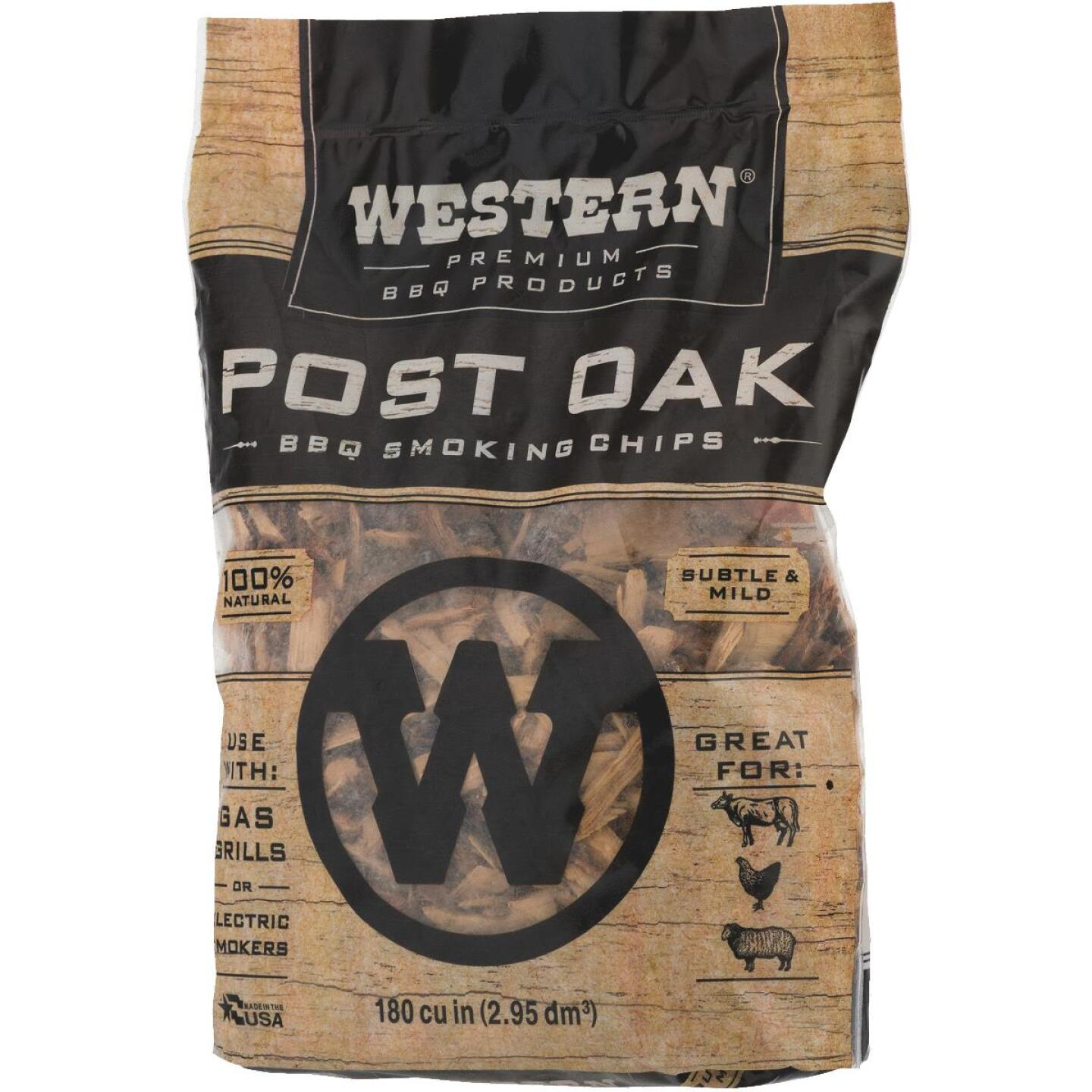 Western 2 Lb. Oak Wood Smoking Chips Image 4