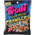 Trolli Sour Brite Crawlers Assorted Sour Fruit Flavors 5 Oz. Gummi Worms Image 1
