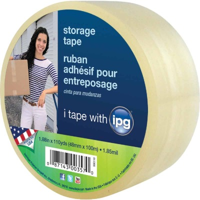 IPG 2 In. x 55 Yd. Clear Film Carton Sealing Tape